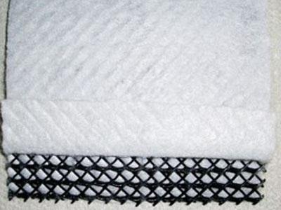 短丝复合排水网